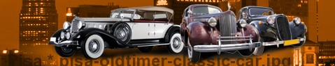 Vintage car Pisa | classic car hire
